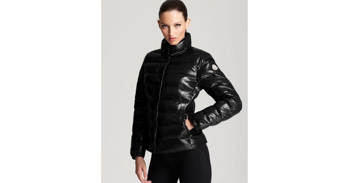 79435d2c4 italy moncler clairy down jacket black red 74d4c 54d0d