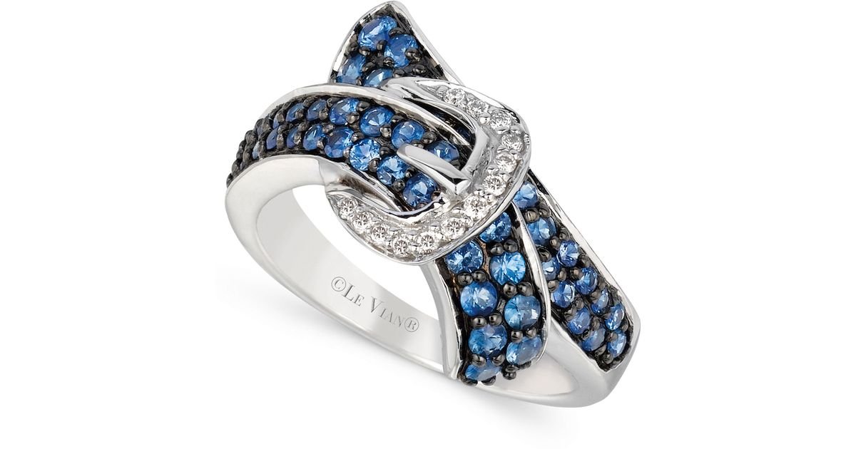 Le Vian Diamond And Sapphire Rings