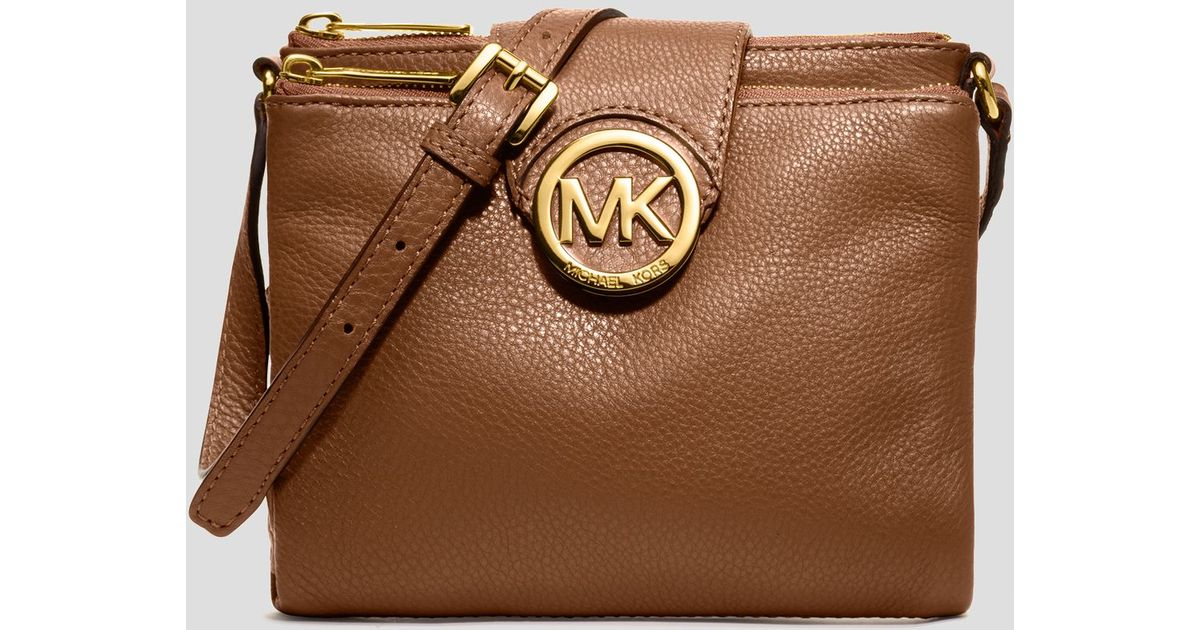 Michael Kors Crossbody Laukut : Michael kors crossbody fulton large in black lyst