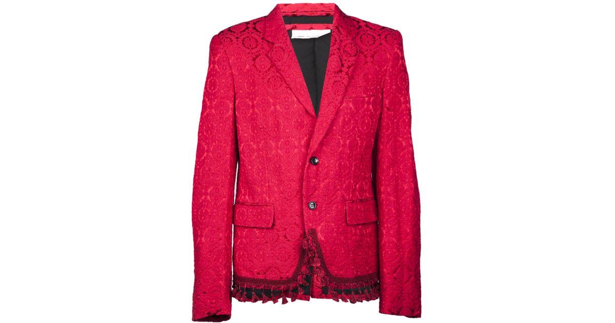 Image result for red brocade jacket
