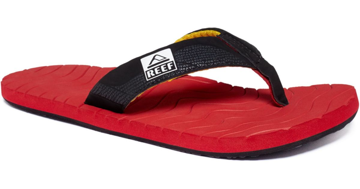b042d68c222b Lyst - Reef Roundhouse Sandals in Black for Men