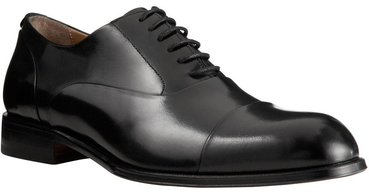 cd35f72ffbd2e John Lewis Goodwin Leather Oxford Shoes in Black for Men - Lyst