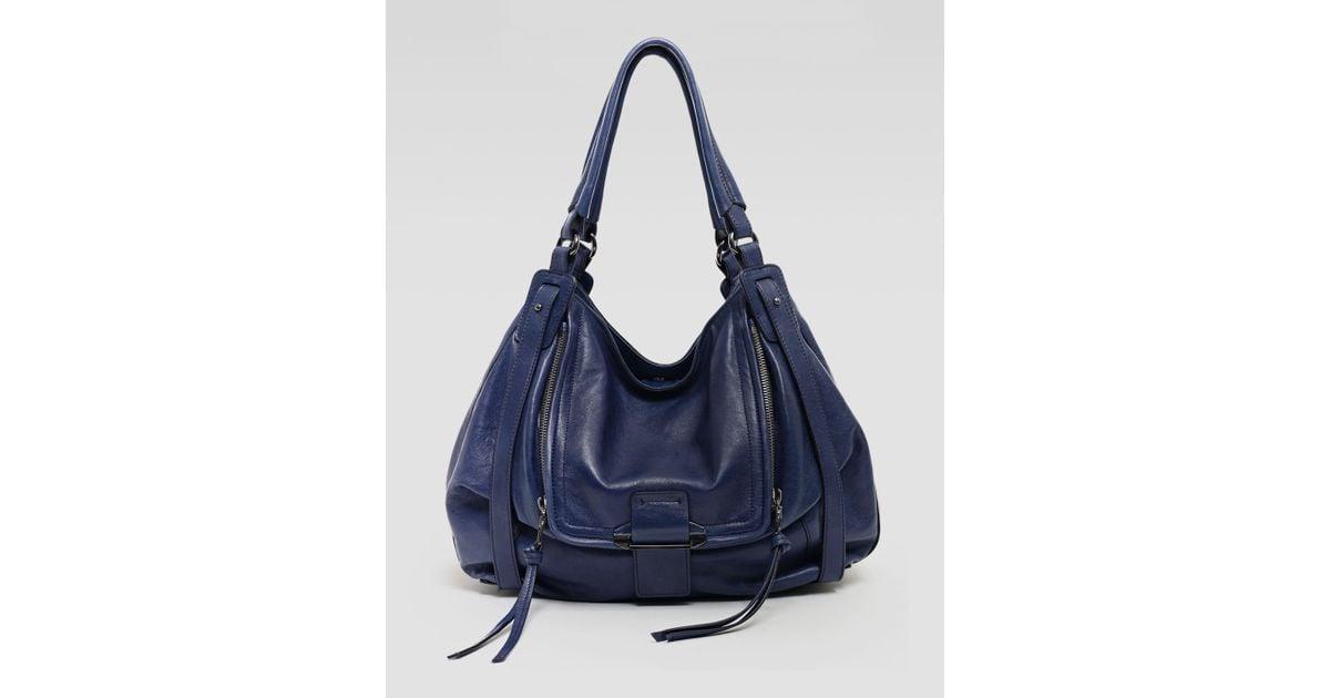719fb10b3 Kooba Jonnie Hobo Bag Navy in Blue - Lyst