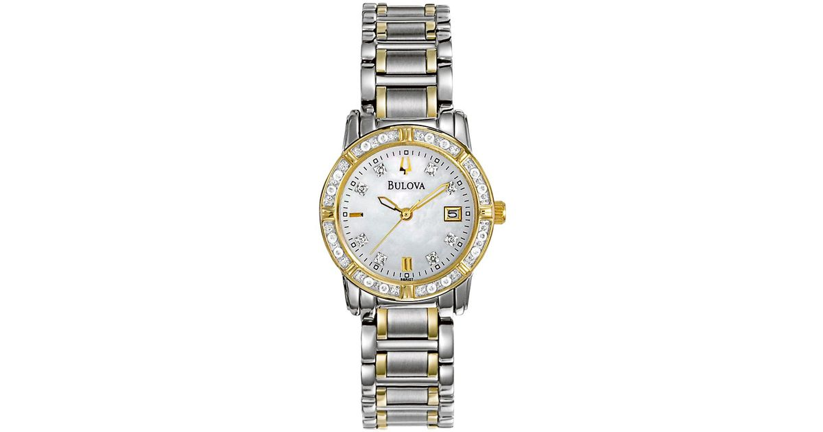 Bulova stainless ladies vintage watch