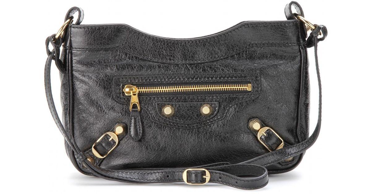 1d0111cc93e6 Lyst - Balenciaga Giant Hip Shoulder Bag in Black