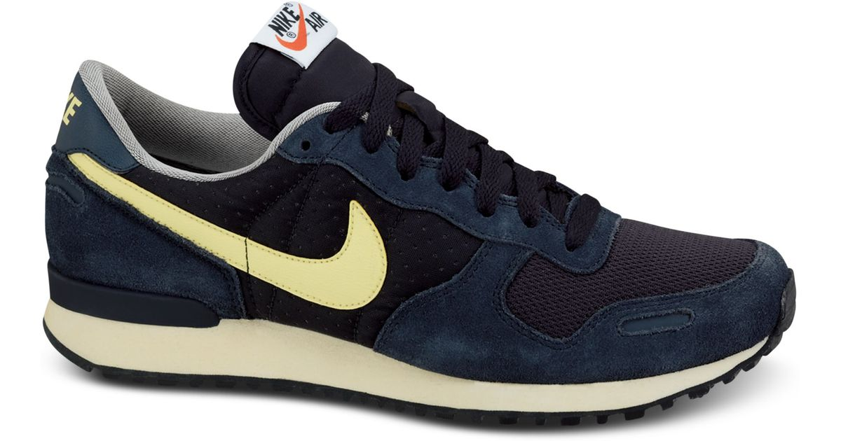 nike air vortex vintage sneakers in blue for men lyst. Black Bedroom Furniture Sets. Home Design Ideas