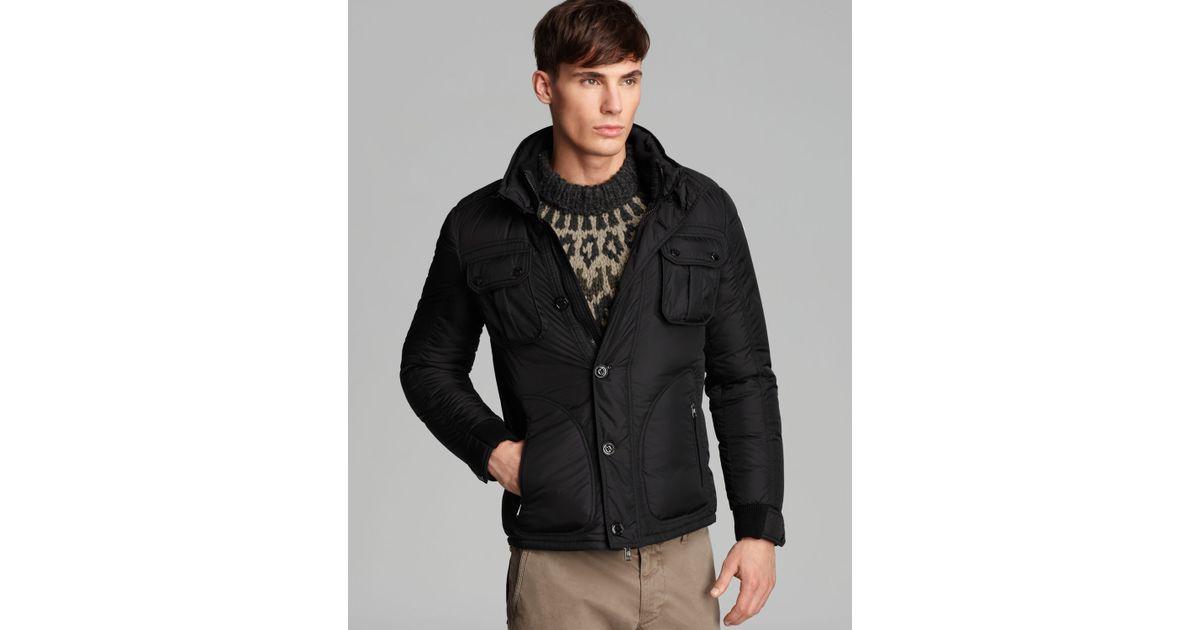 moncler tours military jacket