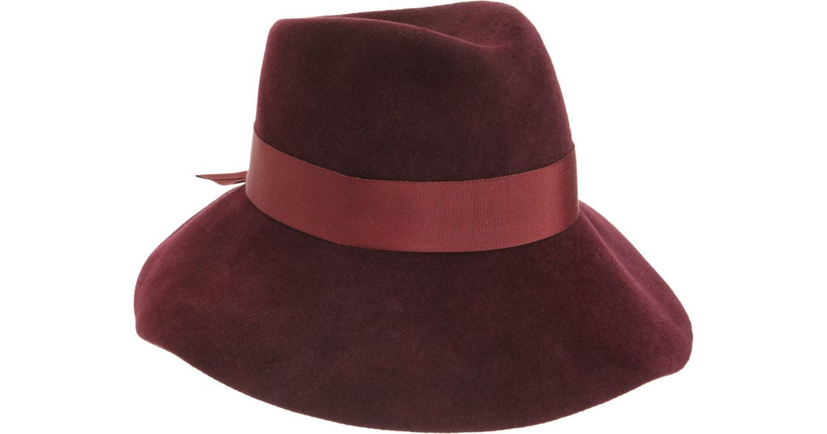 d3afe1e84444f Jennifer Ouellette Tina Hat in Purple - Lyst