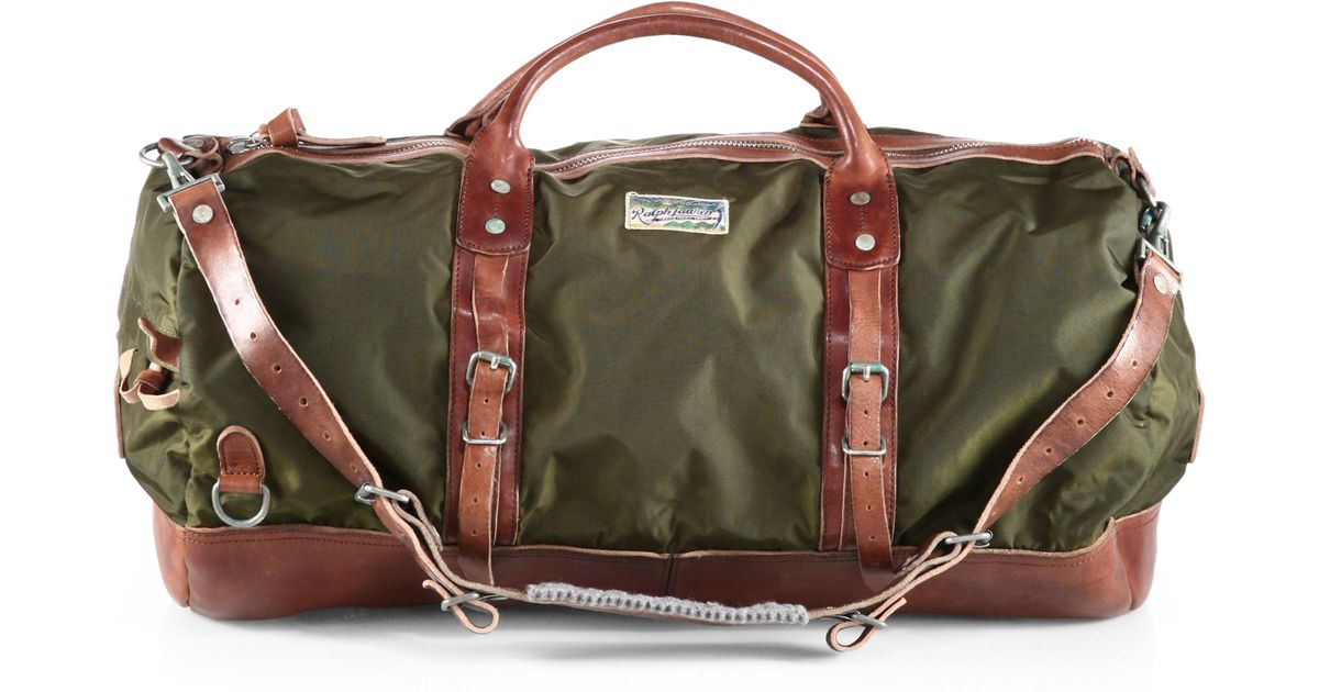 fbe19a200e2 ... where can i buy lyst polo ralph lauren yosemite duffle in green for men  1a1ad 0cd11 ...