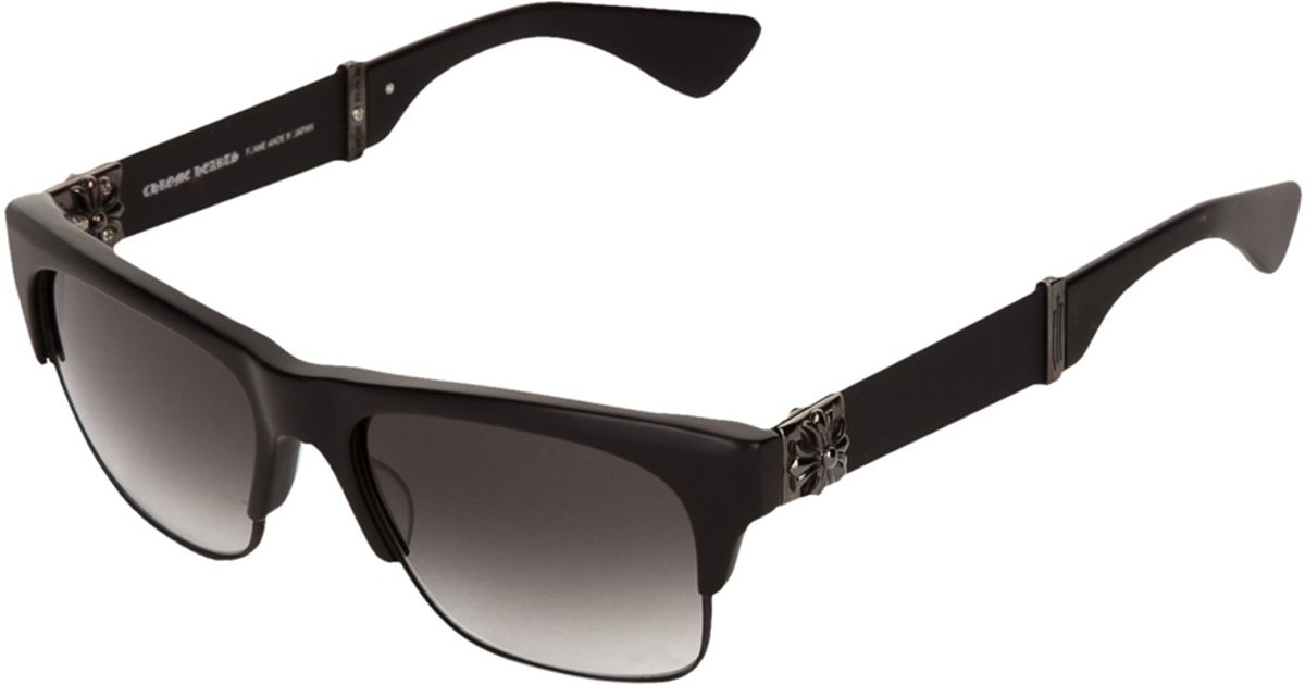 7fc97d6851707 Chrome Hearts Balthy Sunglasses in Black for Men - Lyst