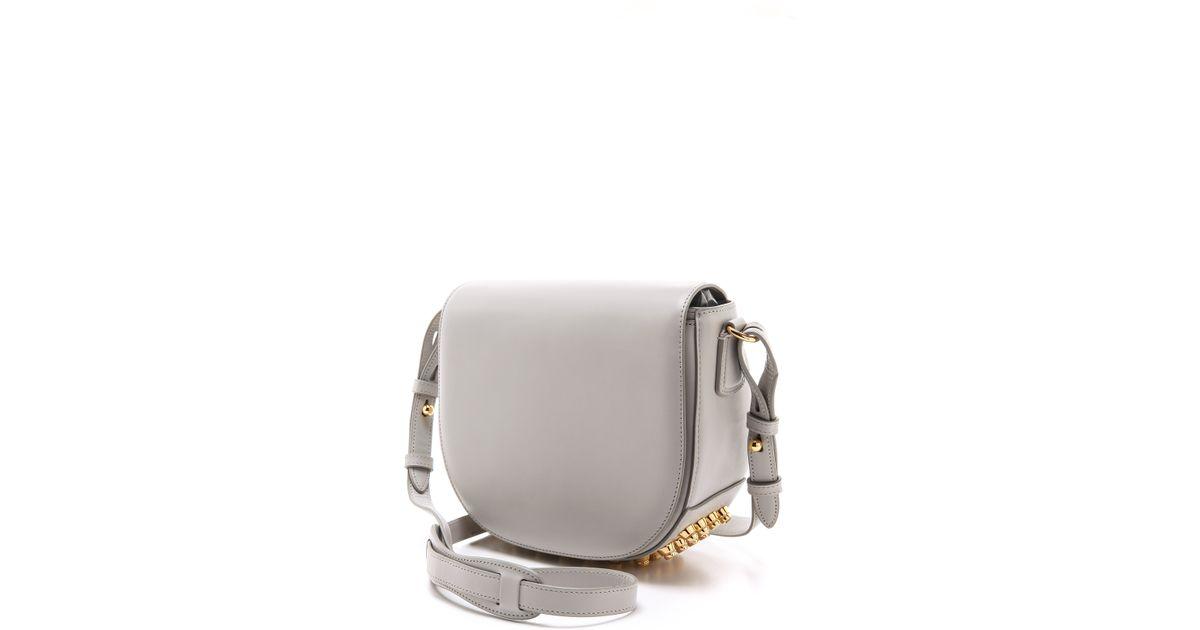 Alexander wang Small Lia Sling Bag in Gray | Lyst