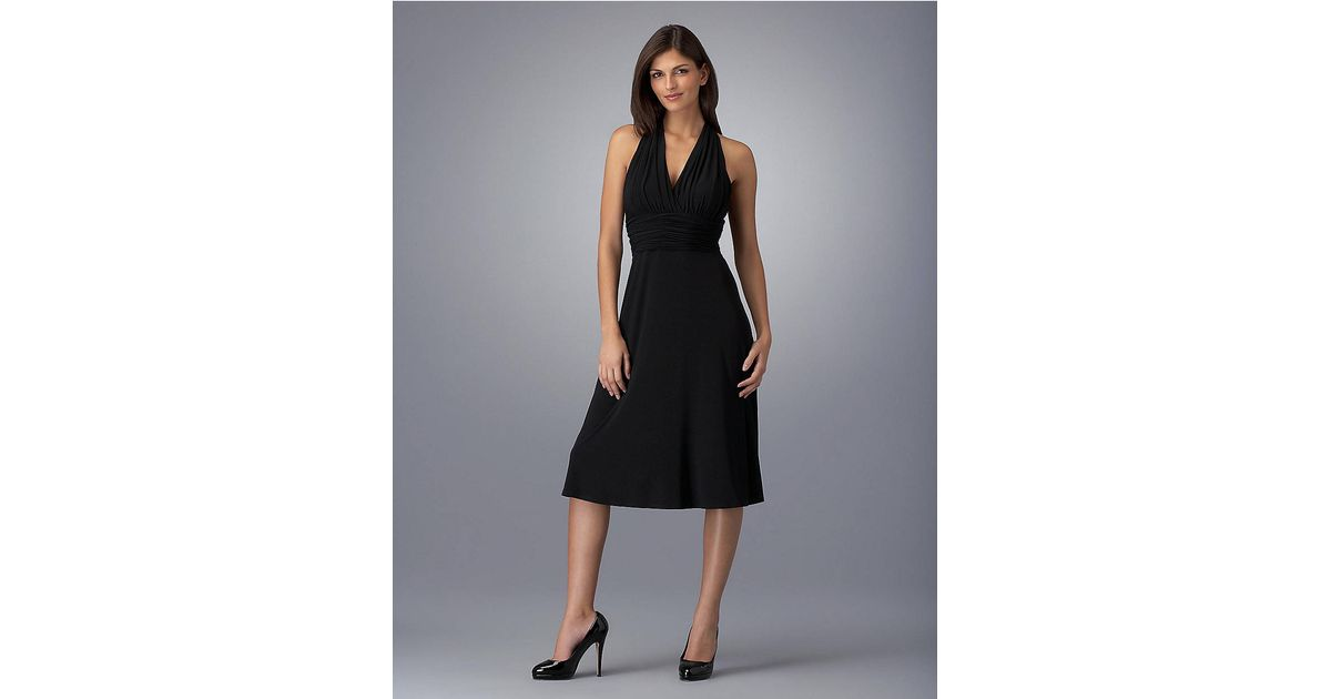 Lyst - Jones New York Marilyn Empire-Waist Dress in Black