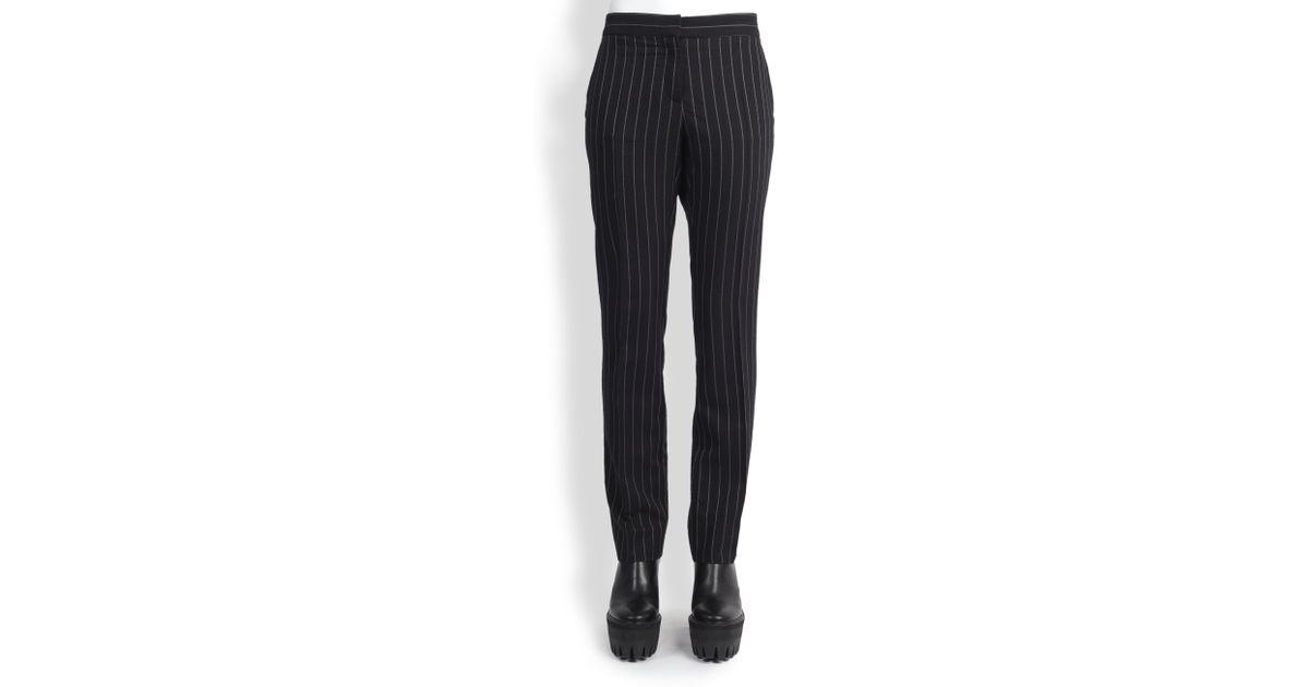 Pantalon À Fines Rayures Stella Mccartney aQsKLXTU
