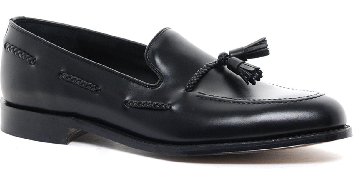2777d73f642 Lyst - Loake Tassel Loafers in Black for Men
