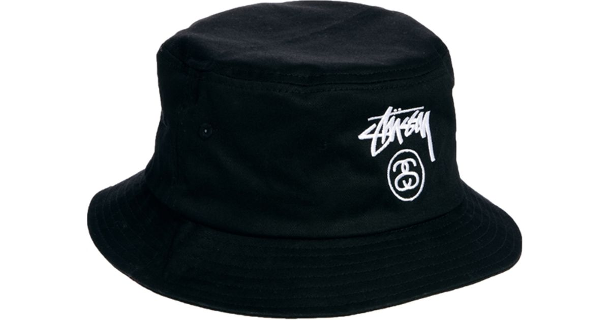 faf81a62f90 Lyst - Stussy Classic Bucket Hat in Black for Men