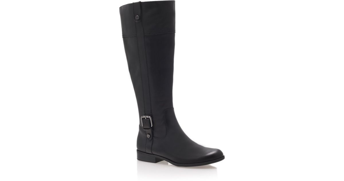 d497a075402 Anne Klein Cijiw Boots in Black - Lyst