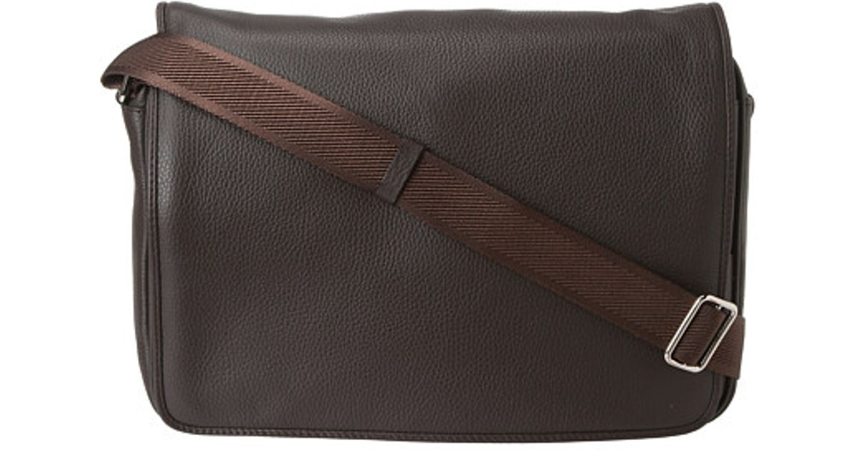 40ee5c6d201f Lyst - Vivienne Westwood Man Leather Positano Bag in Brown for Men