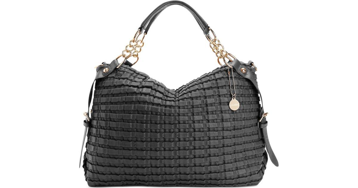 Lyst Big Buddha Big Buddha Handbag Phoebe Convertible Satchel In Black