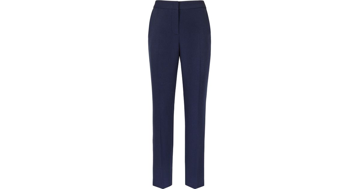a6311c12d Reiss Rocco Trousers in Blue - Lyst