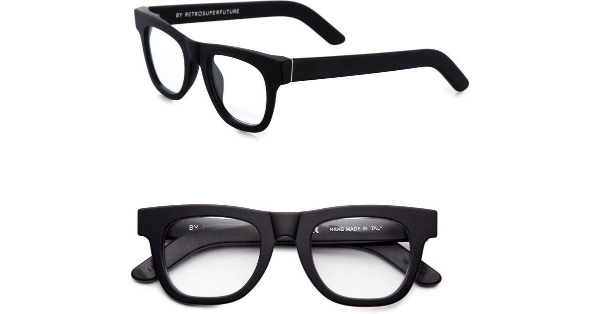99fec47dc59 Lyst - Retrosuperfuture Matte Optical Ciccio Eyeglasses in Black for Men