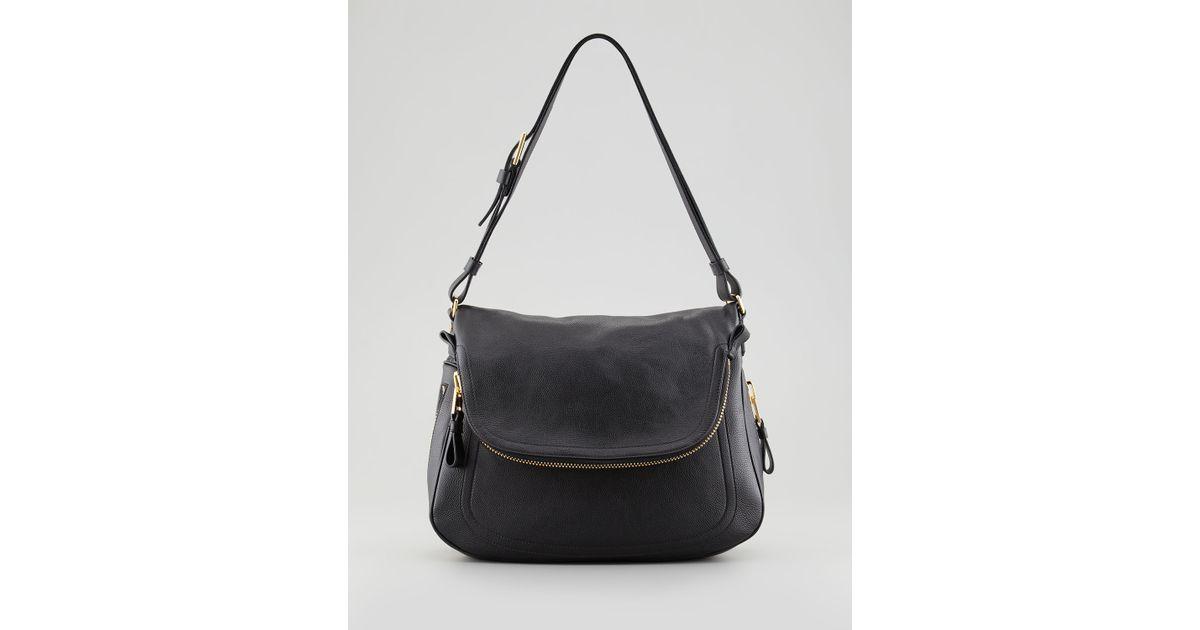 4f1756ea6d ... Trap Calfskin Tote Bag Black. Lyst Tom Ford Jennifer Leather Shoulder  Bag In Black