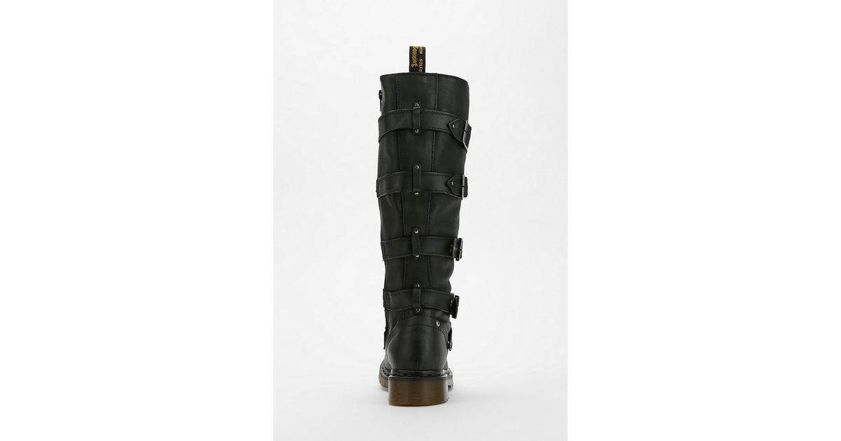 outlet store sale new release finest selection Urban Outfitters Black Dr Martens Phina Bucklestrap Boot