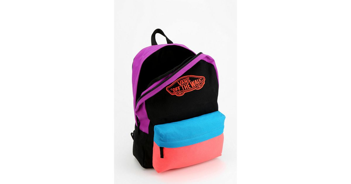 811beaae30f Urban Outfitters Vans Realm Colorblock Backpack for Men - Lyst