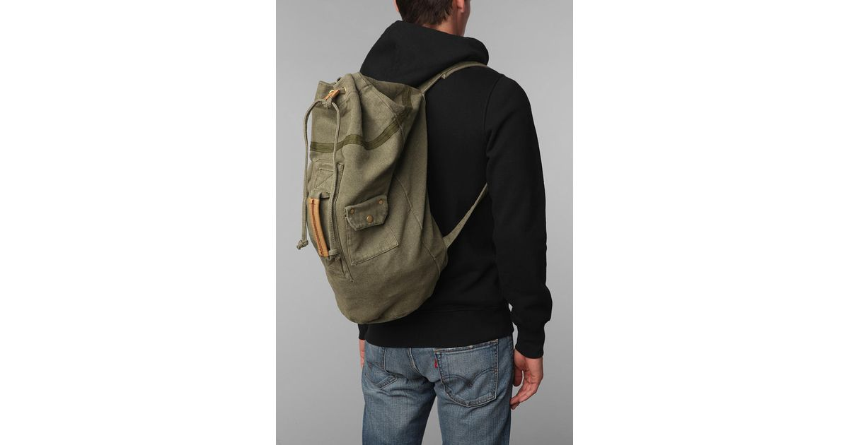ccea74d7ac Lyst - Urban Outfitters Canvas Duffle Backpack in Gray for Men