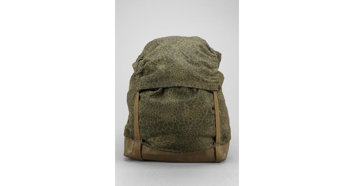 76ad871bf7 Lyst - Urban Outfitters Faif X Urban Renewal Vintage Polish Leopard Backpack  in Green
