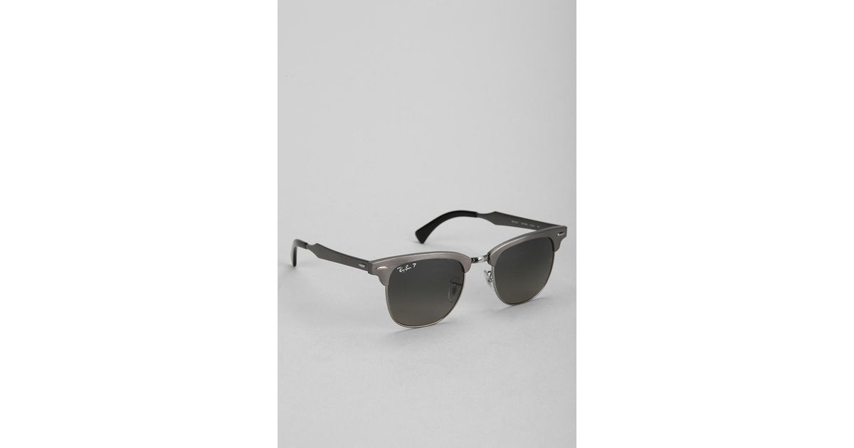 05f0b07397 ... canada lyst urban outfitters rayban matte clubmaster sunglasses in gray  for men 13c98 52e2f