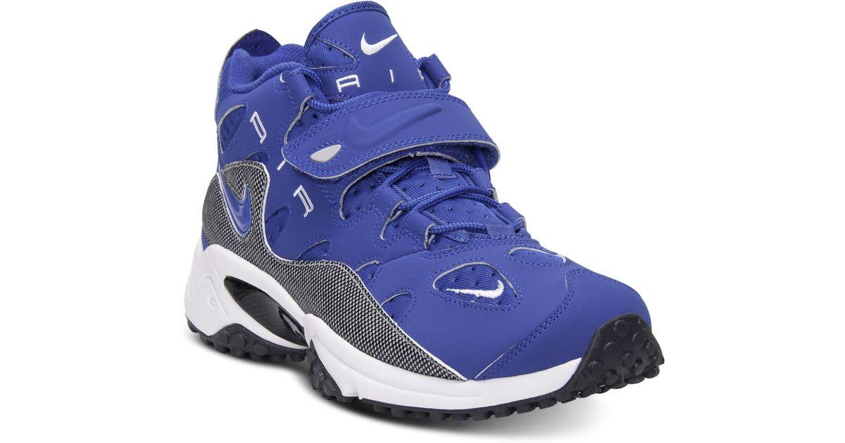 super popular 00690 881a7 ... switzerland lyst nike air max speed turf raider training sneakers in  blue for men e80ff b12fd