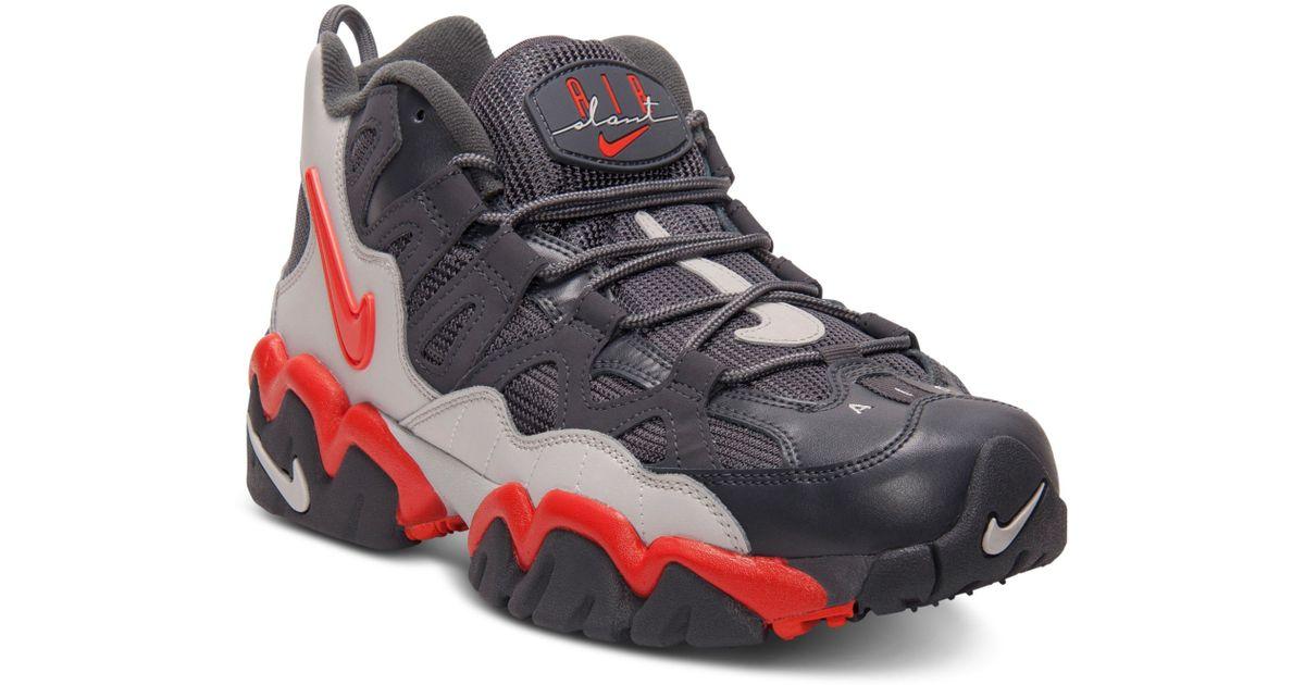 Retro In Men For Mid Lyst Black Sneakers Nike Air Slant Training 6ZPRt