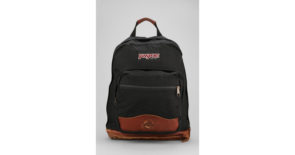 26166c6a0d Lyst - Urban Outfitters Urban Renewal Vintage Jansport Backpack in Black  for Men
