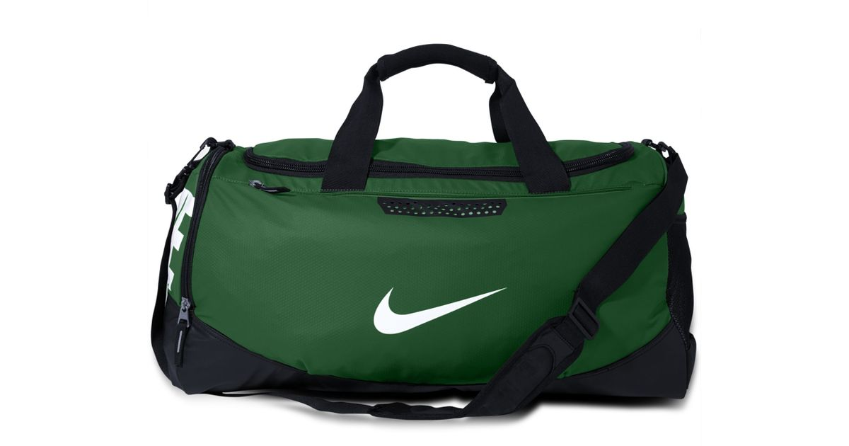ad75319379 Lyst - Nike Water Resistant Team Training Medium Duffle Bag in Green for Men