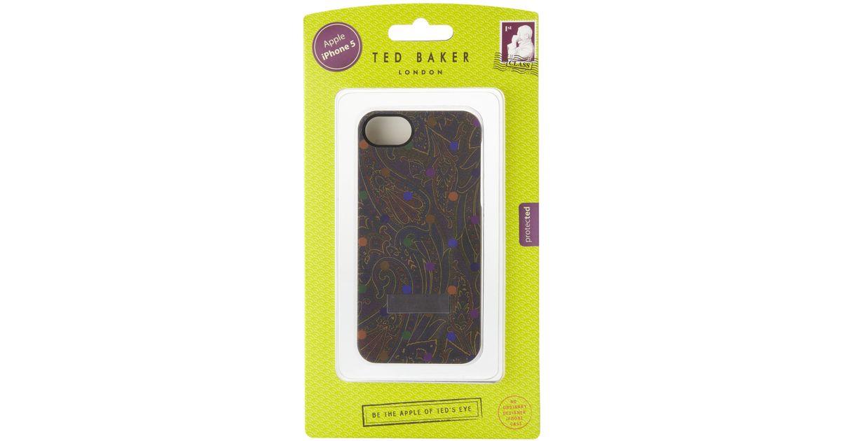 dd6cdb0047517 Ted Baker Iphone Case in Purple - Lyst