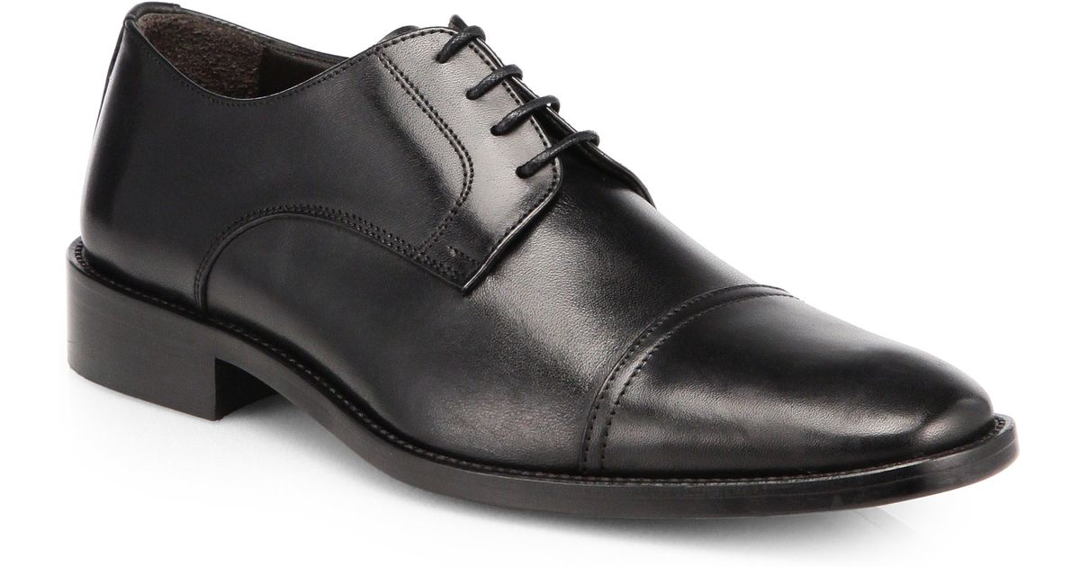 To boot Alberto Laceup Dress Shoes in Black for Men | Lyst
