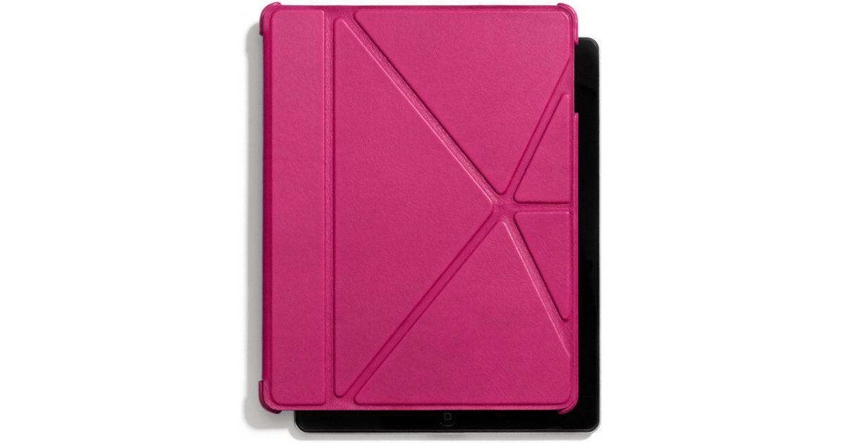 Lyst Coach Bleecker Leather Molded Origami Ipad Case In Pink For Men