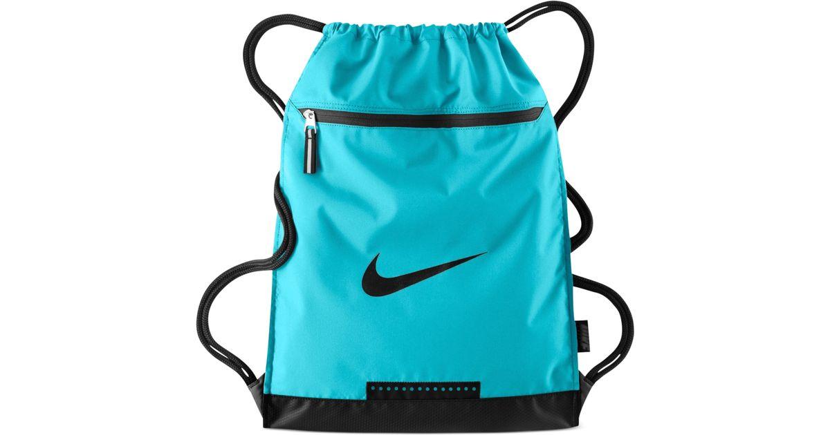 914b40ab71 Lyst - Nike Team Training Gymsack Bag in Blue for Men