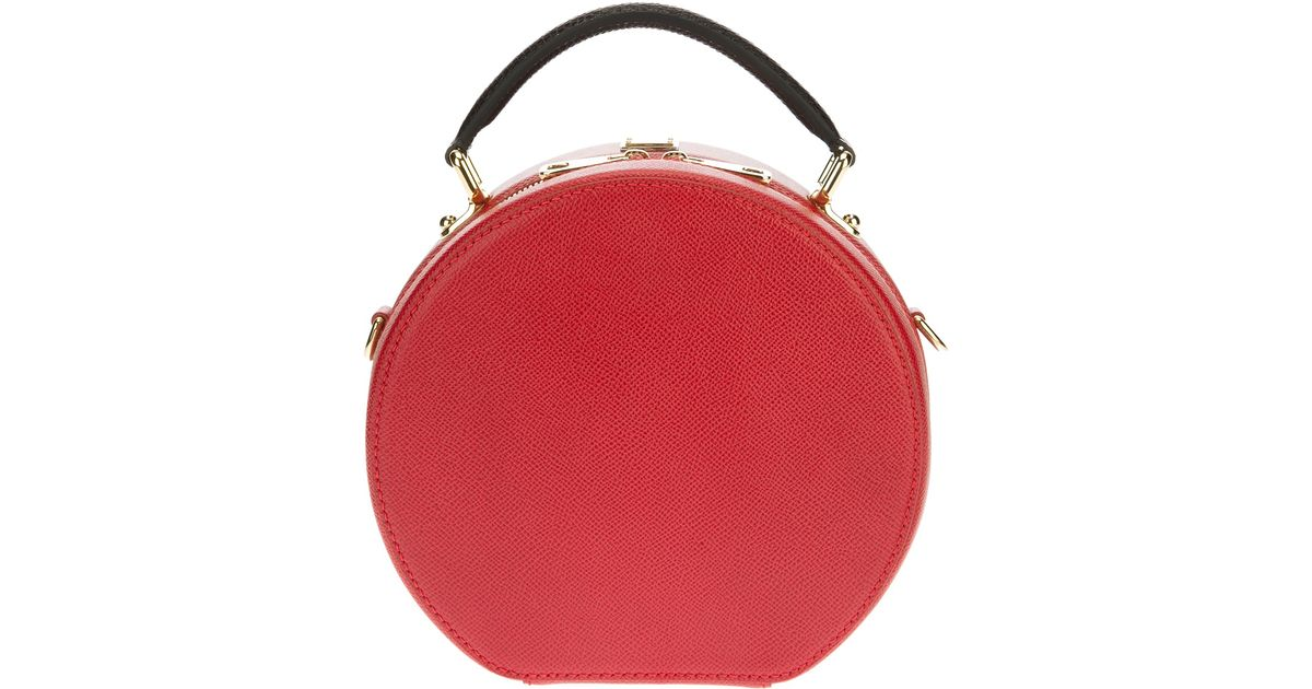 1b625d39d353 Lyst - Dolce   Gabbana Small Round Shoulder Bag in Red