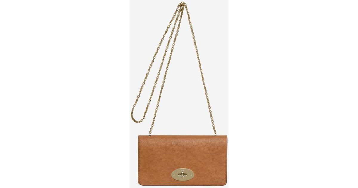 a9f054e64d Mulberry - Brown Bayswater Grainy Goat Wallet Clutch Camel - Lyst