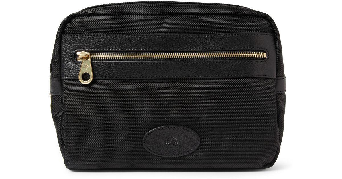 c03636fa9670 Lyst - Mulberry Henry Wash Bag in Black for Men