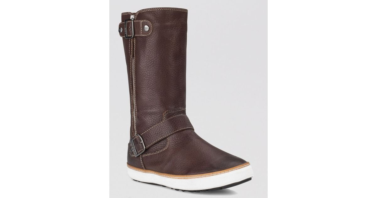 f94d526a3b3 UGG - Brown Cold Weather Boots Andra - Lyst