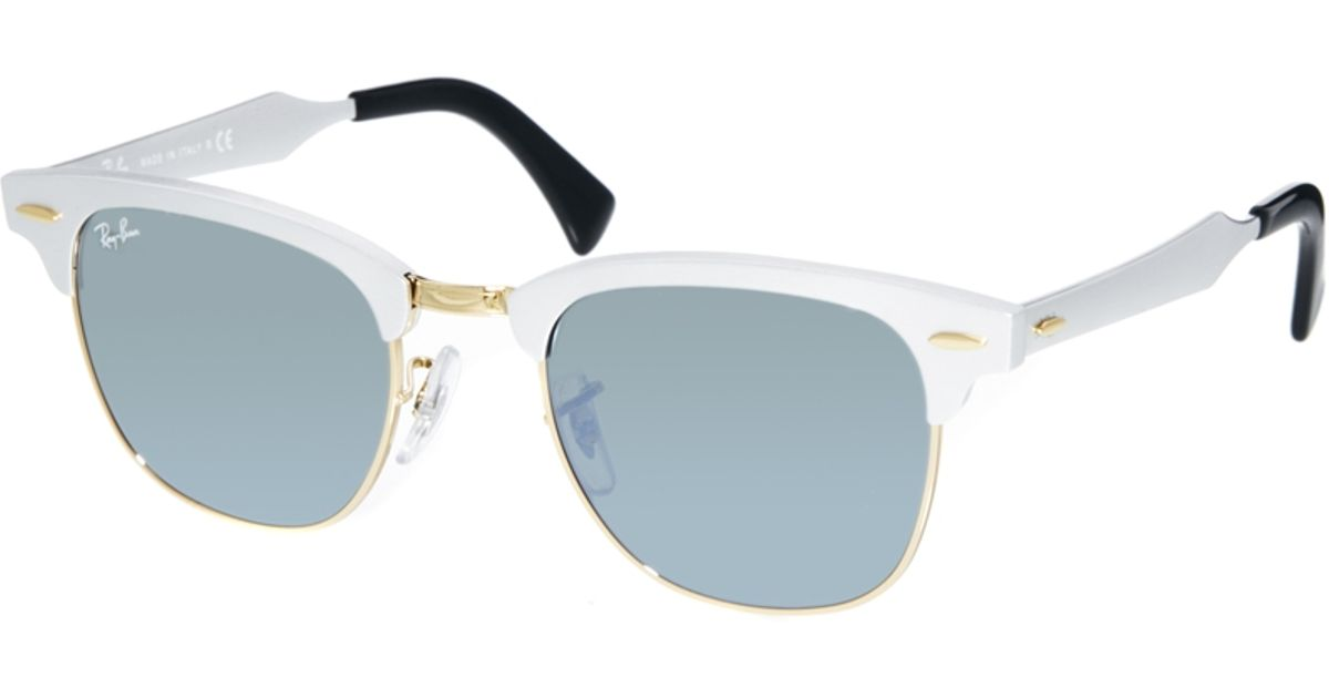 Ray Ban Clubmaster Sunglasses: Browline Classic. The look of the of the Ray-Ban Clubmaster RB Classic sunglasses comes from a long line of cultural influencers, a style for leaders - 5/5(92).