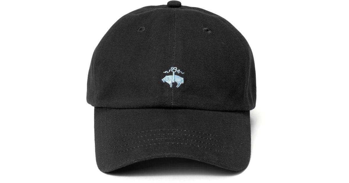 Lyst - Brooks Brothers Golden Fleece® Baseball Cap in Black for Men 41a7d8afe0a