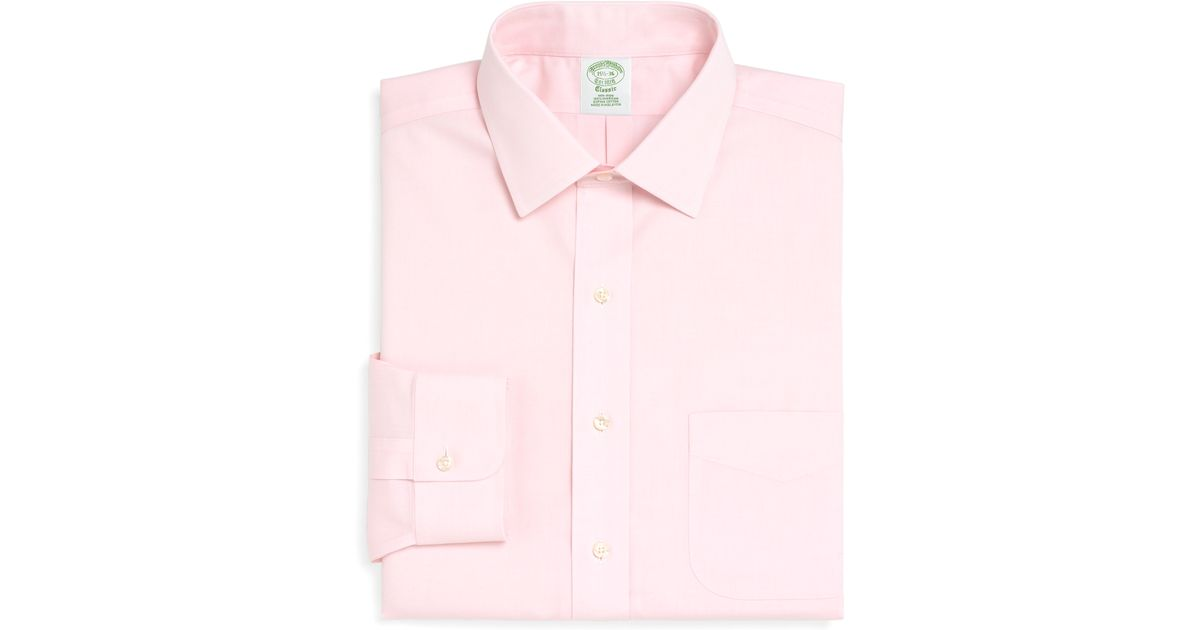 Brooks Brothers Non Iron Milano Fit Spread Collar Dress