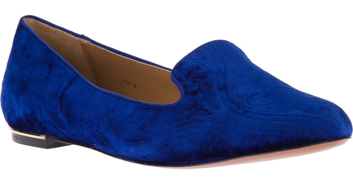 9a033c7e23a Lyst - Rachel Zoe Zahara Loafer in Blue