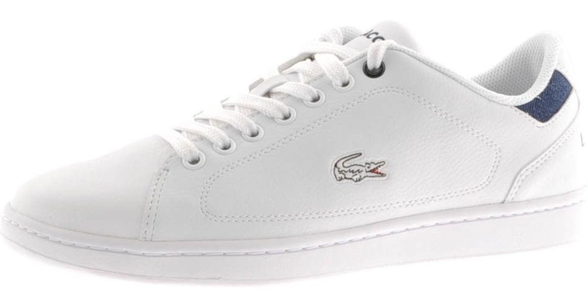 d2a16401d0ed6 Lyst - Lacoste Nistos Trainers in White for Men