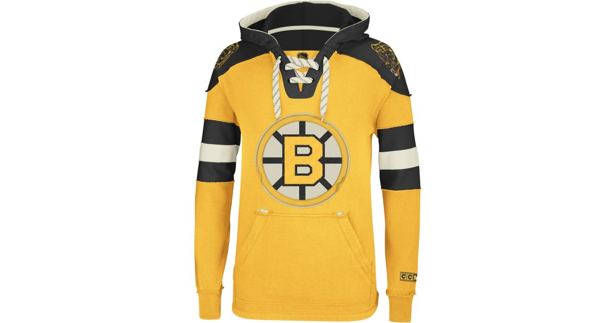 Lyst - Reebok Nhl Pullover Hoodie in Yellow for Men b20167e0f