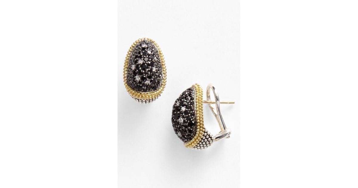 rocks watches silver earrings black stud spinel glitzy tgw round jewelry sterling product