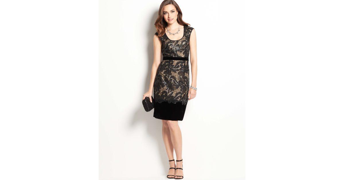 Ann taylor blackdress lace